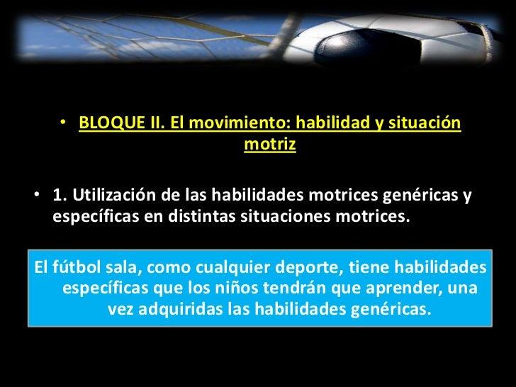 Ejemplo de UD de Fútbol Sala