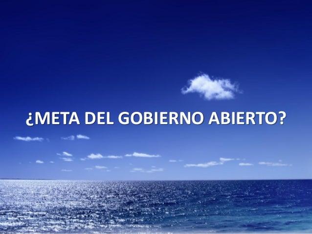 Tecnología y Gobierno Abierto (Montevideo) Slide 3