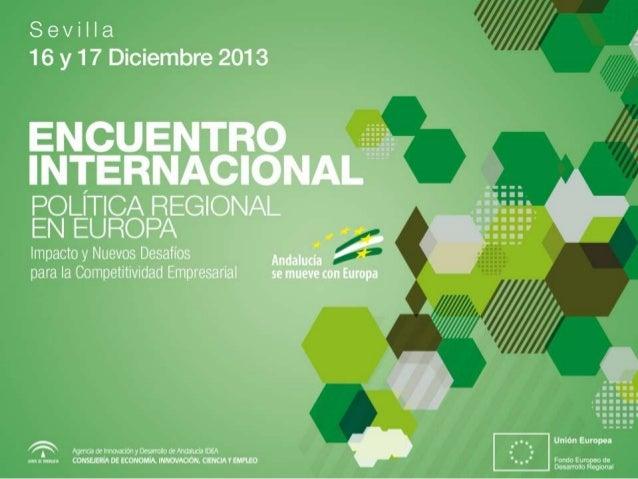 """Plataforma de cooperación territorial """"ReTSE""""  •  Inicio en 2002  •  Promover la cooperación empresarial y tecnológica ent..."""