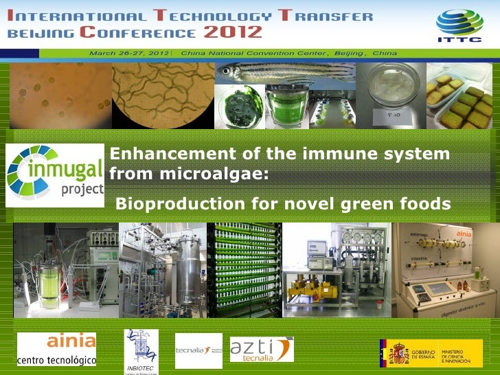 Enhancement of the immune systemfrom microalgae:Bioproduction for novel green foods