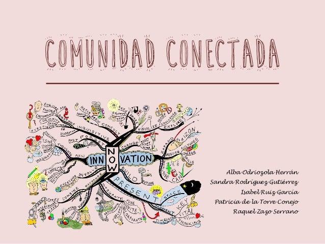 COMUNIDAD CONECTADA Alba Odriozola Herrán Sandra Rodríguez Gutiérrez Isabel Ruiz García Patricia de la Torre Conejo Raquel...