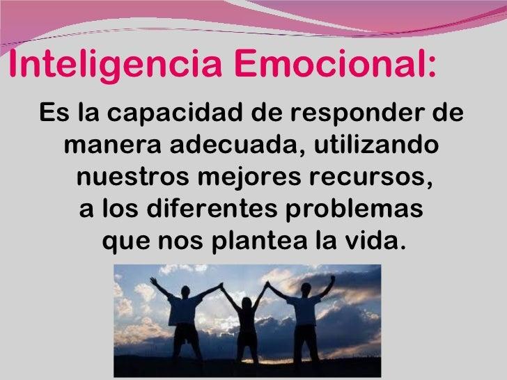 Presentación inteligencia emocional Slide 3