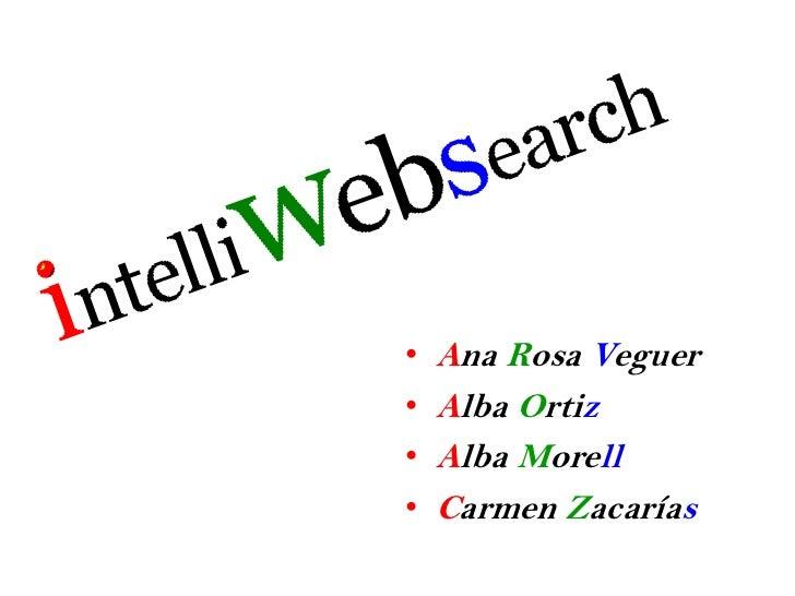 Ana Rosa Veguer<br />Alba Ortiz<br />Alba Morell<br />Carmen Zacarías<br />
