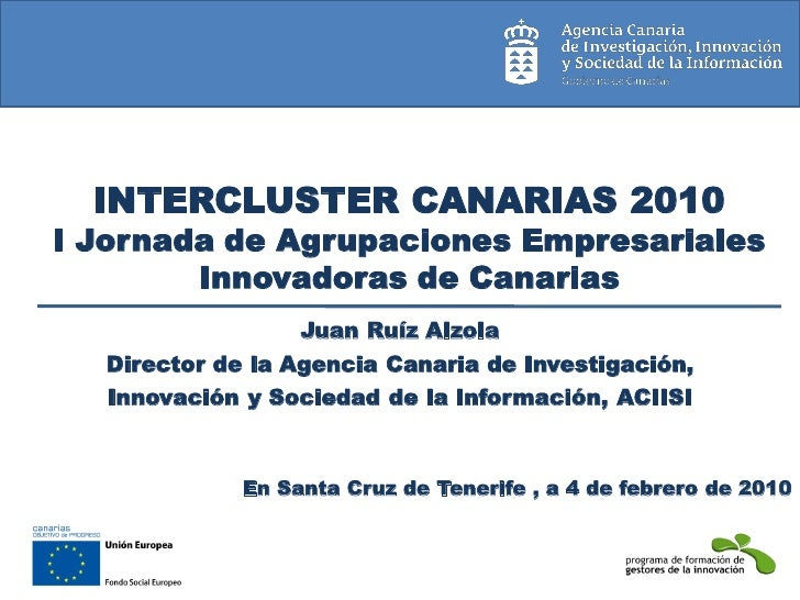 Intercluster canarias 2010