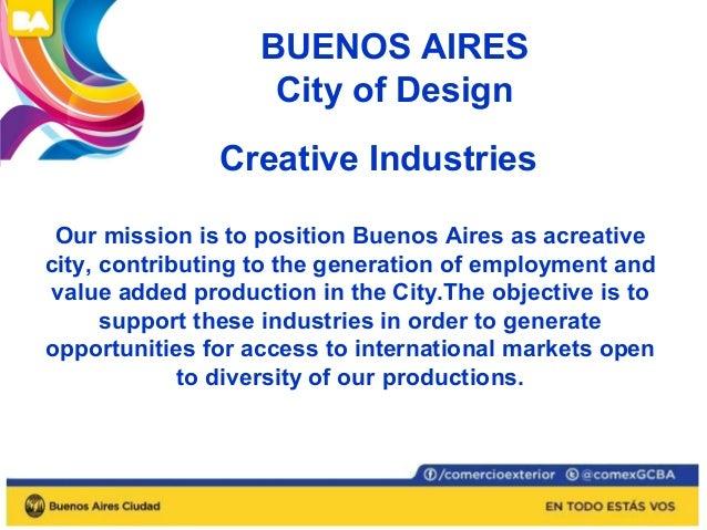 Audiovisual  District  Tech  District  Art District  Design  District  Farmaceutical  Area  Logistic  Area  BUENOS AIRES C...