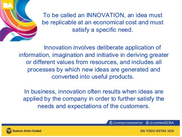 Innovation is  synonymous with  risk-taking and  organizations that  create revolutionary  products or  technologies take ...