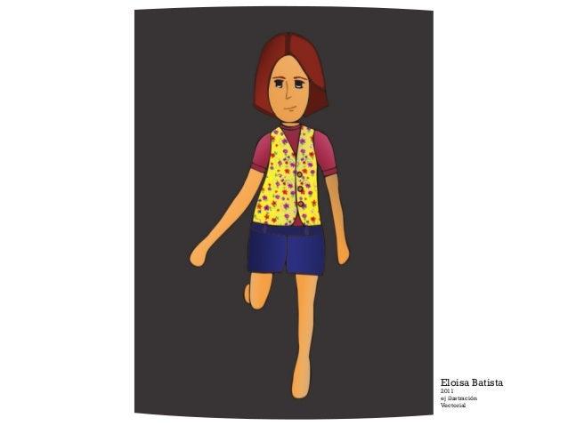 Eloisa Batista 2011 ej ilustración Vectorial