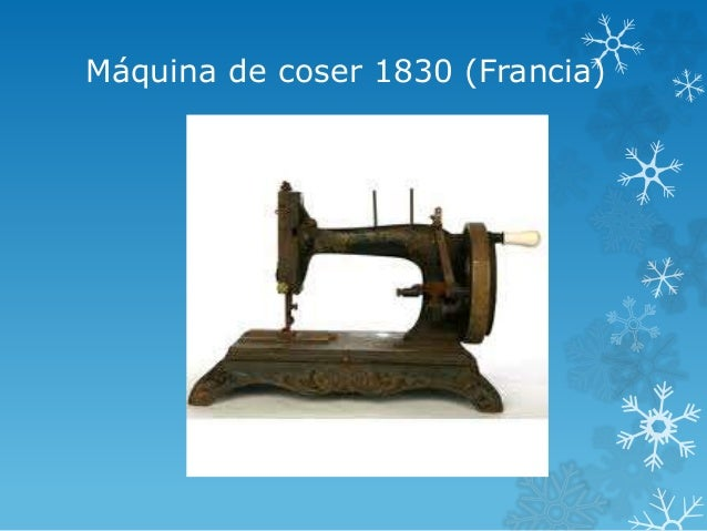 invenciones 1830