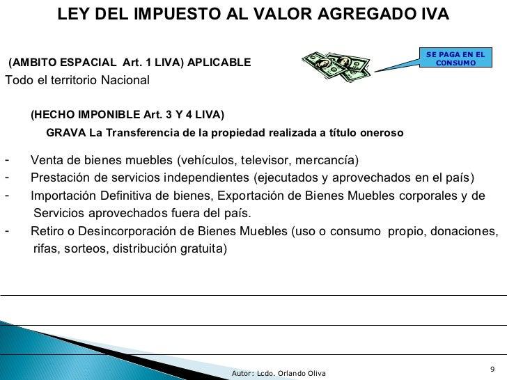 Presentaci n iva 2011 for Impuesto de bienes muebles