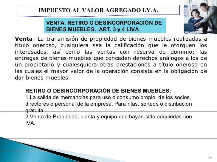 Presentaci n iva 2012 for Impuesto de bienes muebles