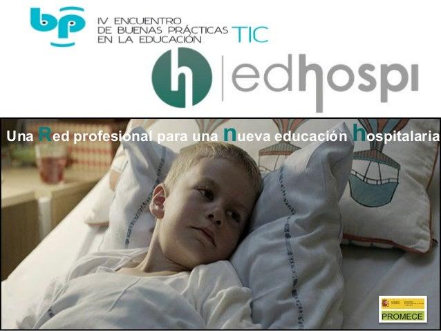 Una Red profesional para una nueva educación hospitalaria.