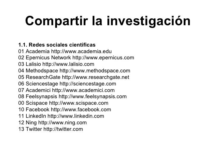 Jornada herramientas 2 0 para investigadores Slide 3