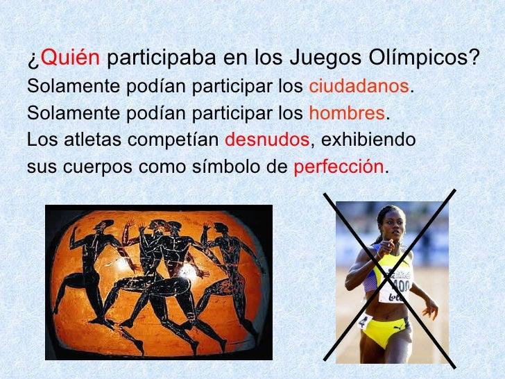 Presentacion Juegos Olimpicos