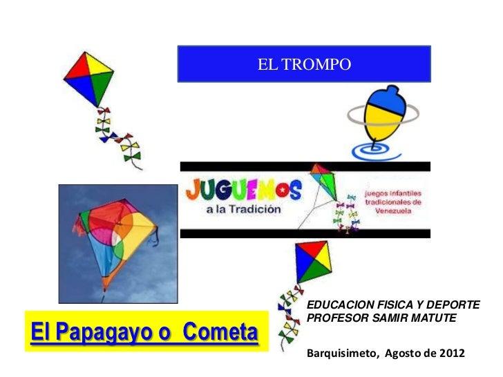 Presentacion Juegos Tradicionales Papagayo Trompo Bertzaih Martinez