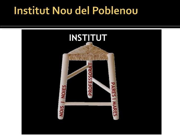 NOIS  I  NOIES PROFESSORAT INSTITUT PARES I MARES