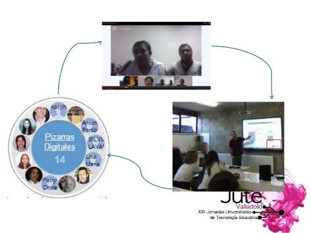 Julio Real Julio.real@uam.es Óscar Costa ocostar@gmail.com @oscarcosta_ Las videoconferencias permiten por un lado estable...