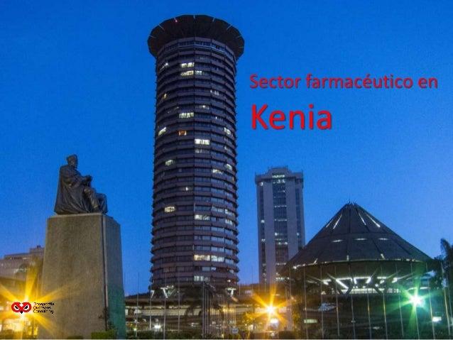 Sector farmacéutico en Kenia