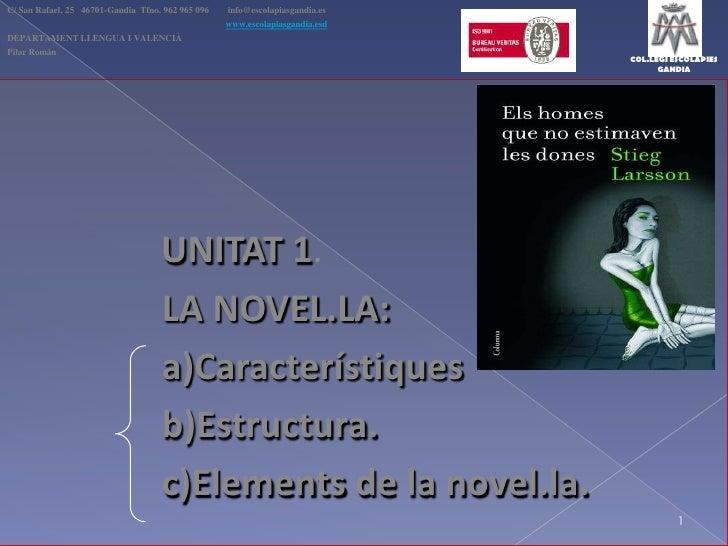 C/ San Rafael, 25   46701-Gandia  Tfno. 962 965 096  info@escolapiasgandia.es<br />www.escolapiasgandia.esd<br />DEPARTAM...
