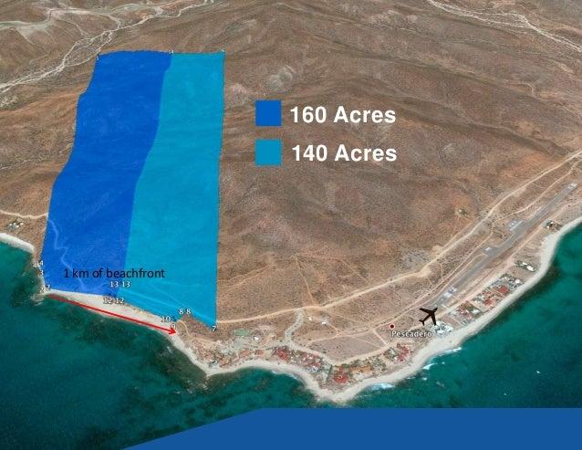 Acres 1 Km Of Beachfront