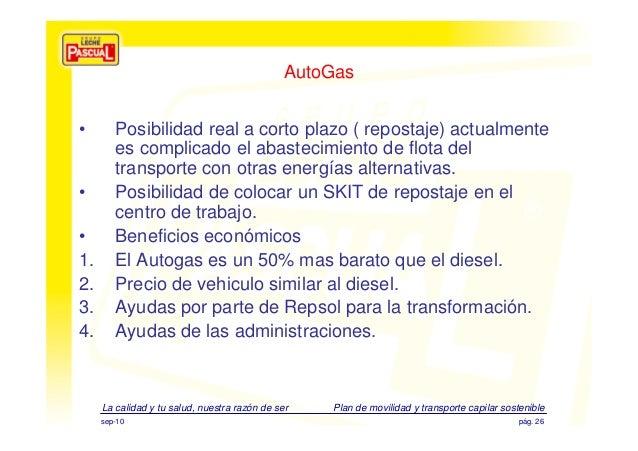 Pol ticas y retos ambientales de grupo leche pascual - Centro de salud la flota ...