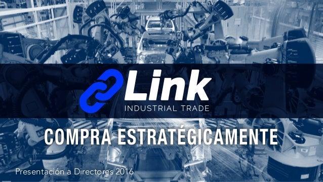 Presentación a Directores 2016 COMPRA ESTRATÉGICAMENTE