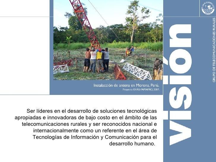 PLANEACIÓN DE PROYECTOS EN TELECOMUNICACIONES RURALES Slide 3
