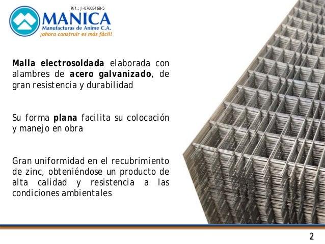 Mallas de acero electrosoldadas para refuerzo de concreto - Malla de acero galvanizado ...