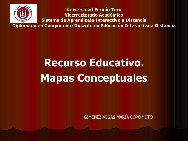 Universidad Fermín Toro Vicerrectorado Académico Sistema de Aprendizaje Interactivo a Distancia Diplomado en Componente Do...