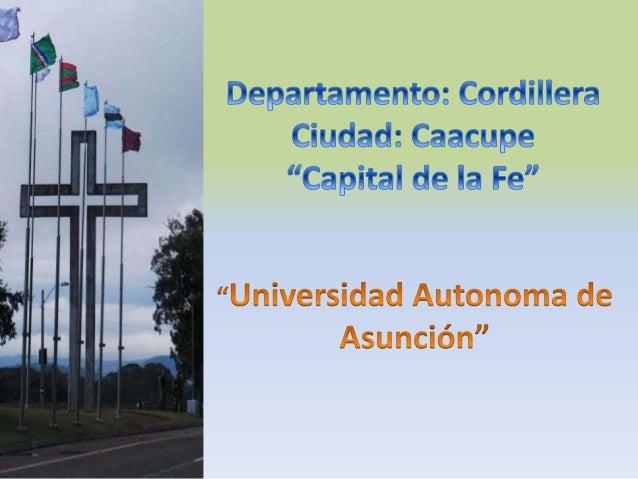 Presentación del Departamento  Ubicación Actividades Resaltantes Sitios Turísticos Informaciones Útiles Autor
