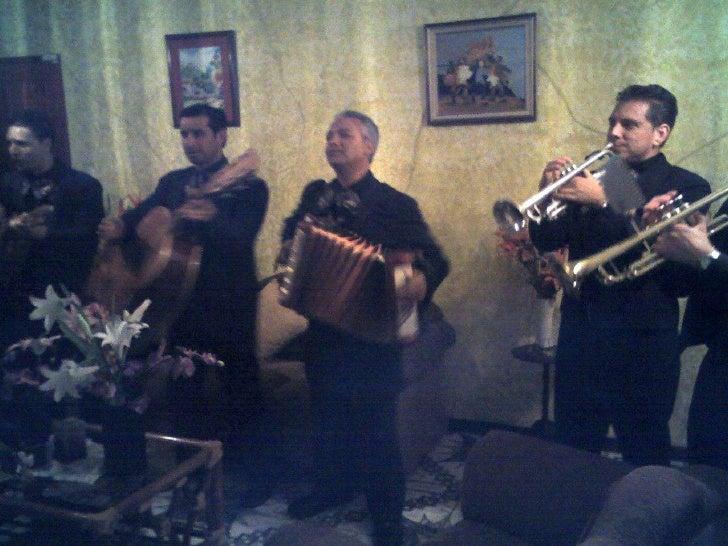 Mariachi Tico-Brumas, año 2009<br />