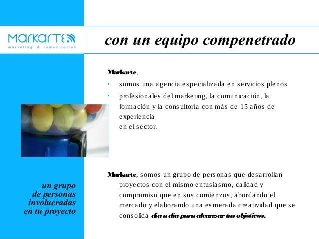 Presentación Markarte Slide 3