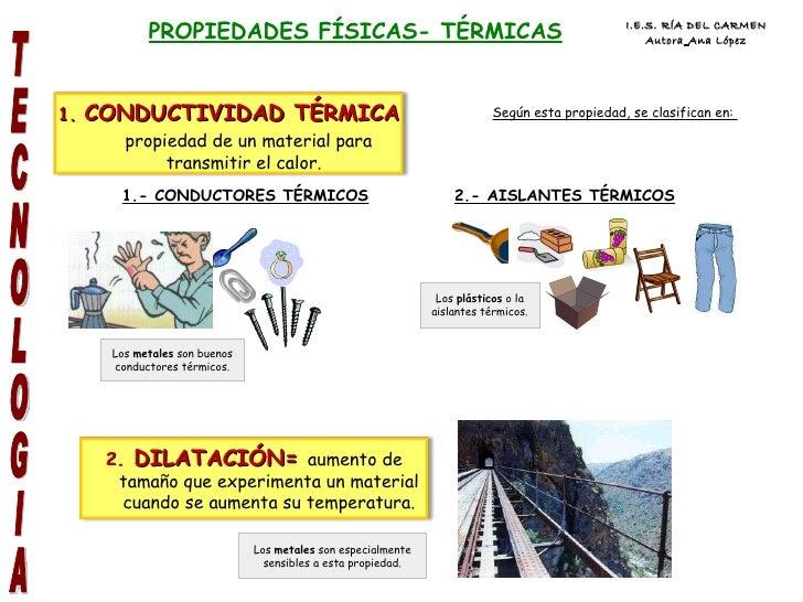 Presentaci n materiales oxford pablo - Materiales aislantes termicos ...