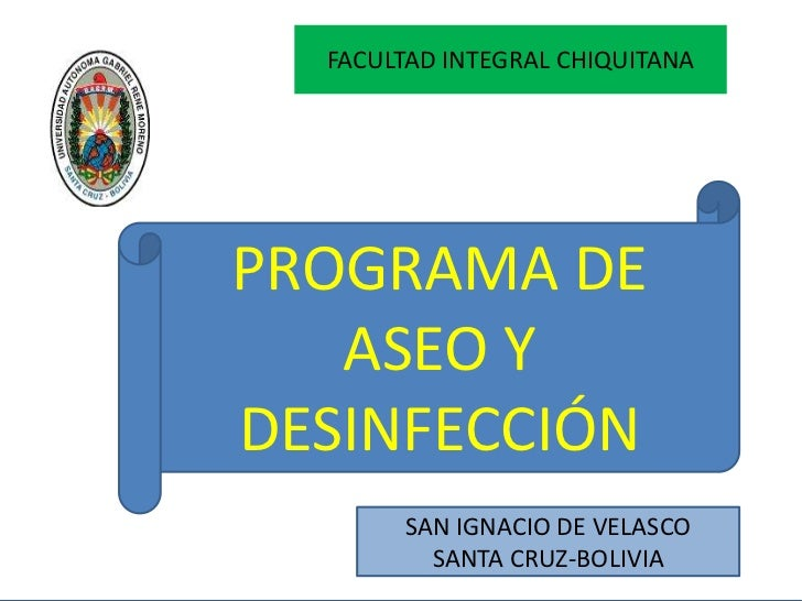 Programa de aseo y desinfecci n for Manual de limpieza y desinfeccion en restaurantes