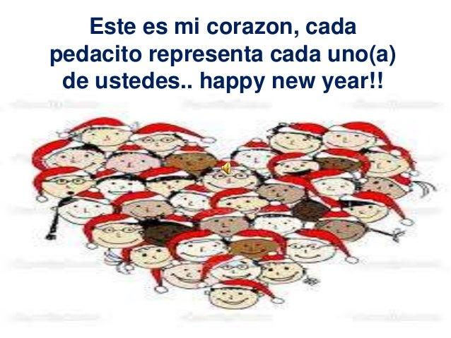 Este es mi corazon, cadapedacito representa cada uno(a) de ustedes.. happy new year!!