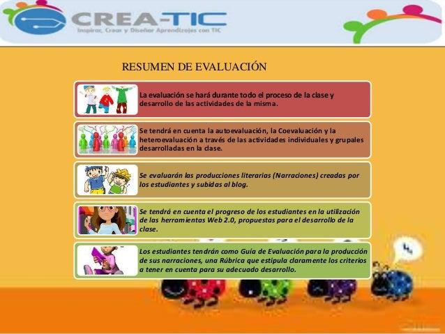 RESUMEN DE EVALUACIÓN  La evaluación se hará durante todo el proceso de la clase y  desarrollo de las actividades de la mi...