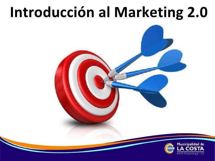 Introducción al Marketing 2.0