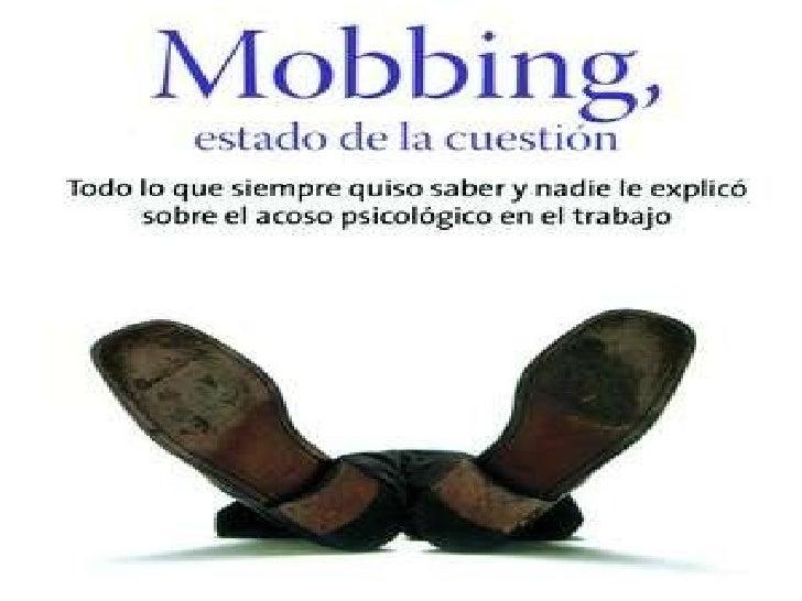 Mobbing,  estado de la cuestión