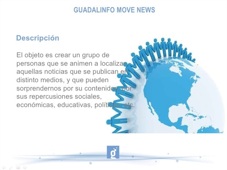 Presentación modelo proyectos movenews Slide 2