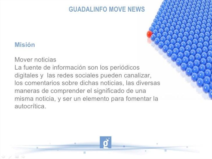 Presentación modelo proyectos movenews Slide 3