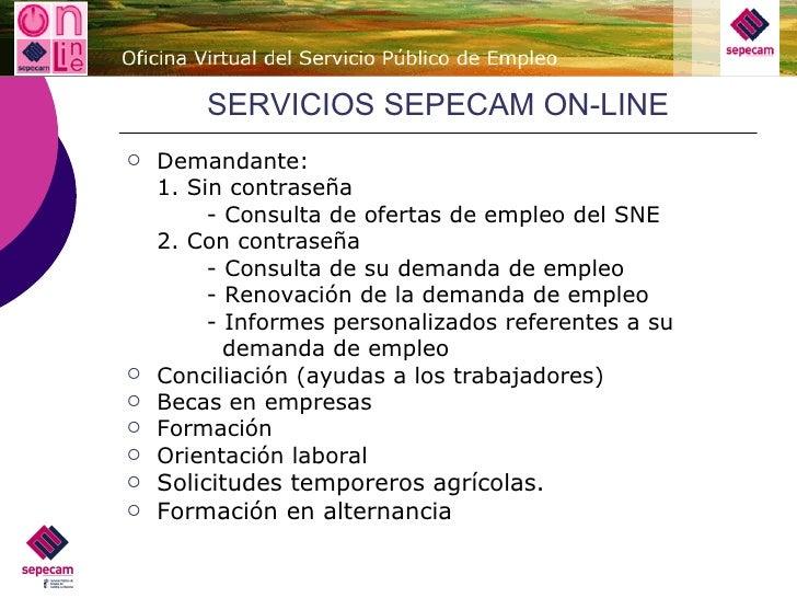 Presentacion orientacion laboral for Oficina virtual jccm