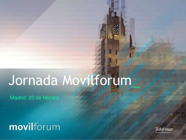 Jornada Movilforum_ Madrid, 20 de febrero