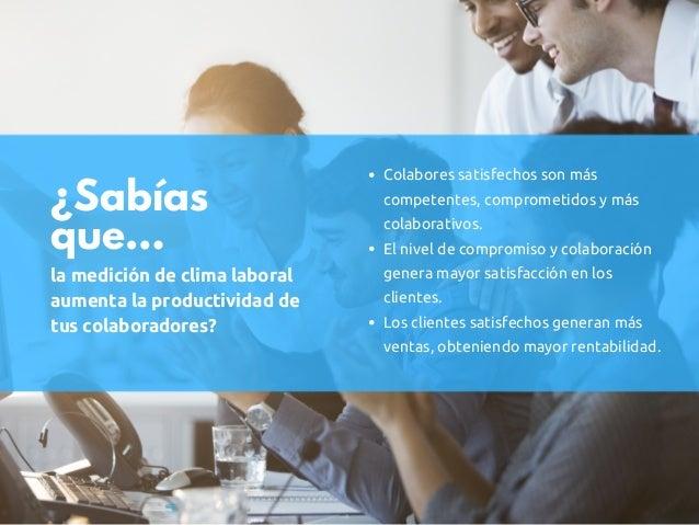 Servicio: Estudio de Clima Laboral en Guatemala Slide 2