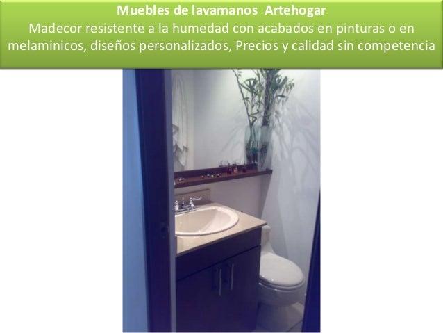 competencia muebles de lavamanos with muebles bao de obra