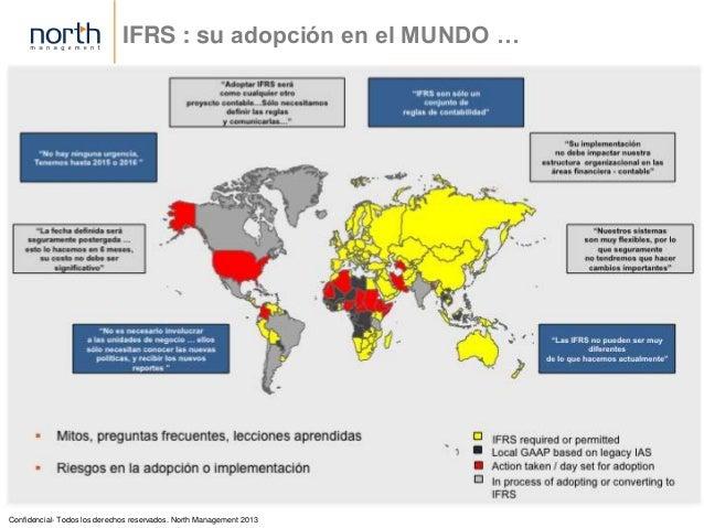 IFRS - Estandares Internacionales de Contabilidad y Reportes Financieros Slide 2