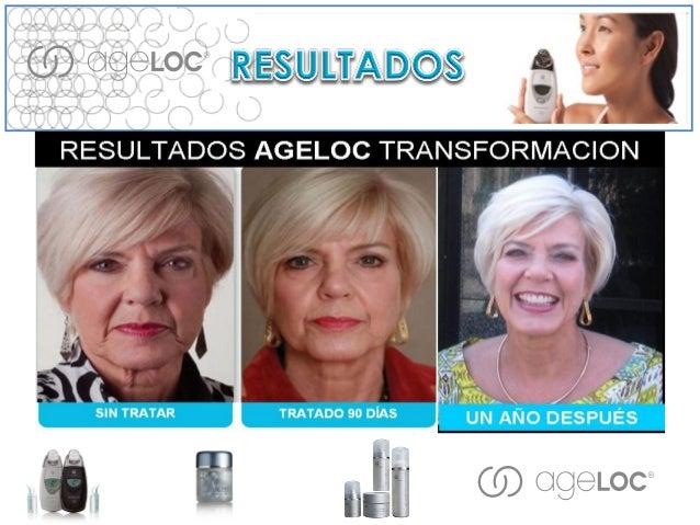 AgeLOC TRU FACE ESSENCE ULTRA •Tiene Ethocyn; Un ingrediente antienvejecimiento clínicamente comprobado. Restaura la elast...