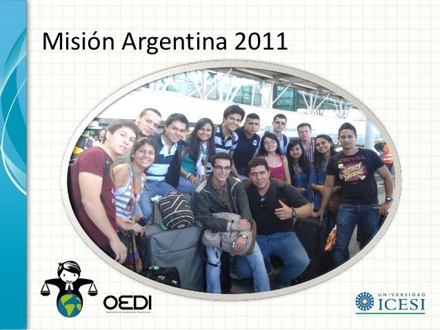 Misión Argentina 2011