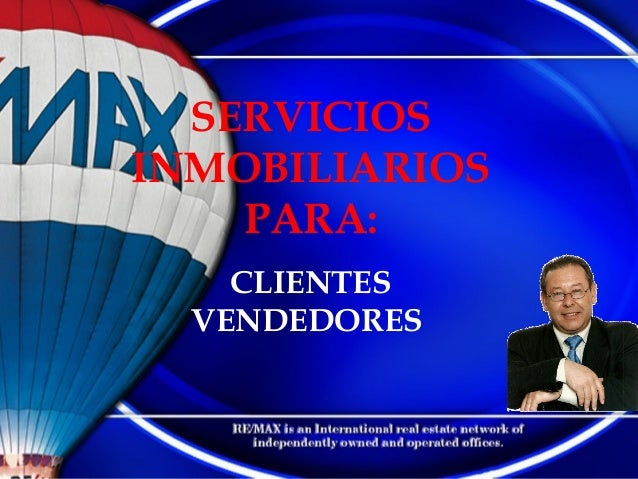 SERVICIOS INMOBILIARIOS PARA: CLIENTES VENDEDORES