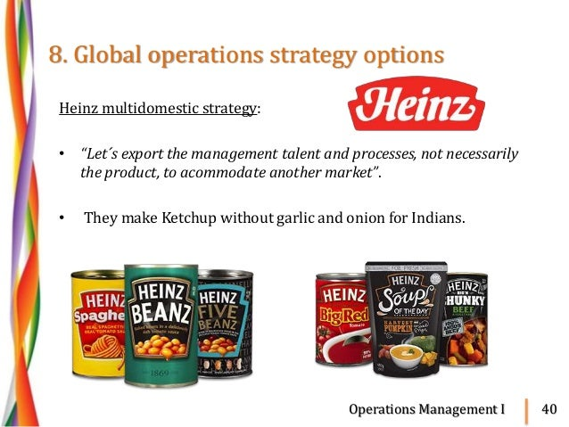 difference between global strategy transnational strategy and multidomestic strategy A multidomestic business adapts its offerings to each market, whereas a global company maintains a constant strategy.