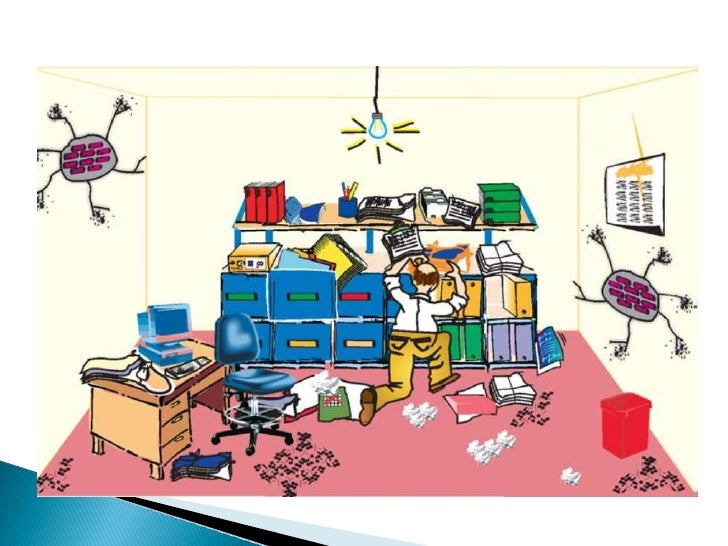 Presentaci n orden y limpieza 2 for Riesgos laborales en oficinas administrativas