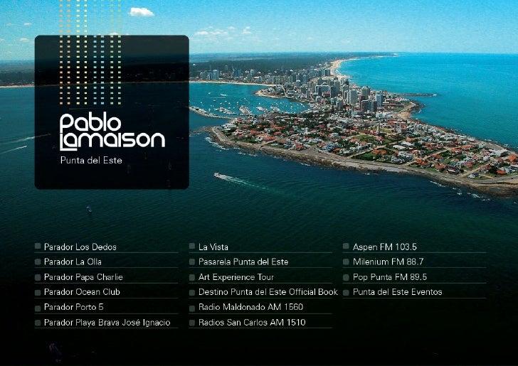 Presentación Pablo Lamaison 2012